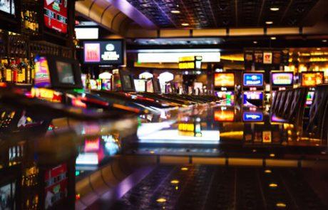 Interior of a casino